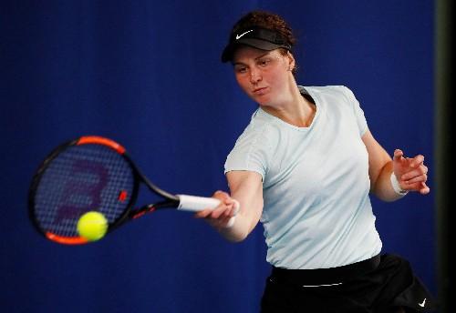 WTA roundup: Teichmann, Samsonova advance at Palerm