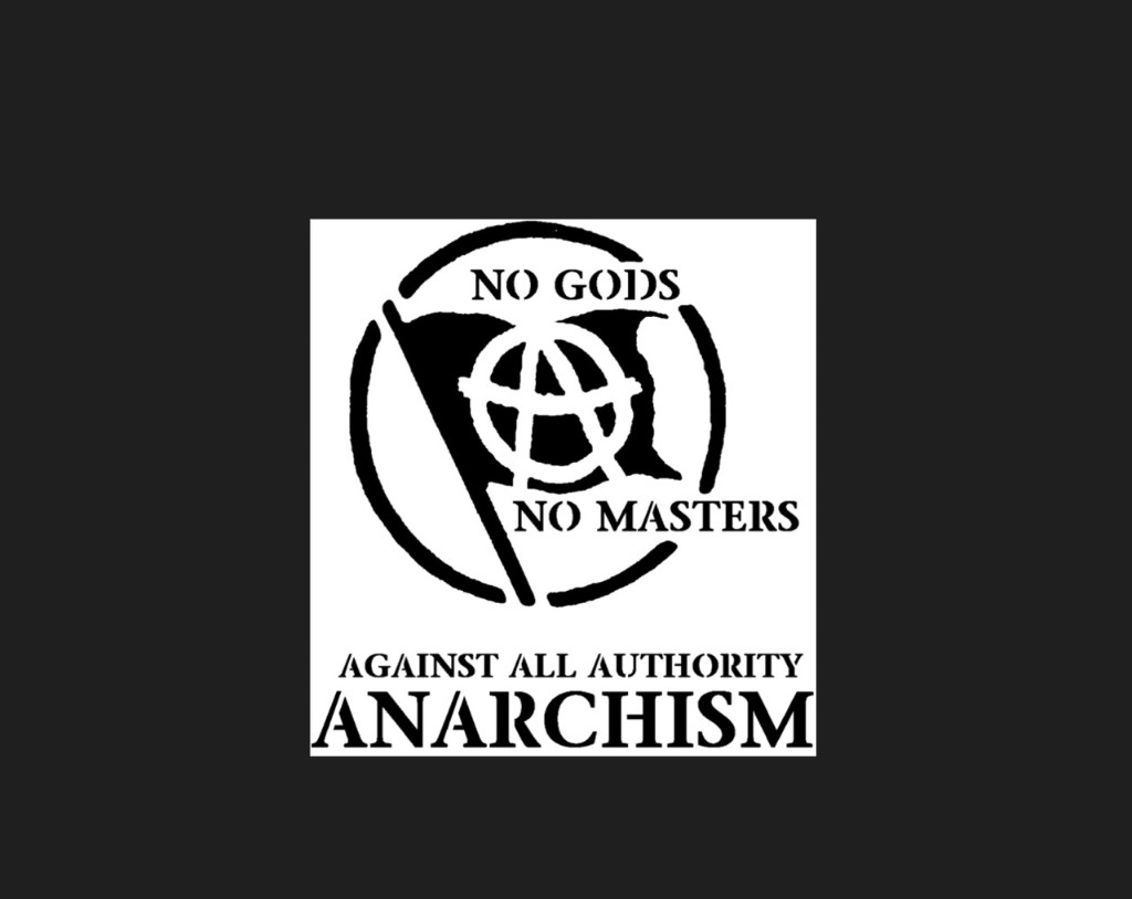 ANARCHISM Ⓐ Against All Authority - cover