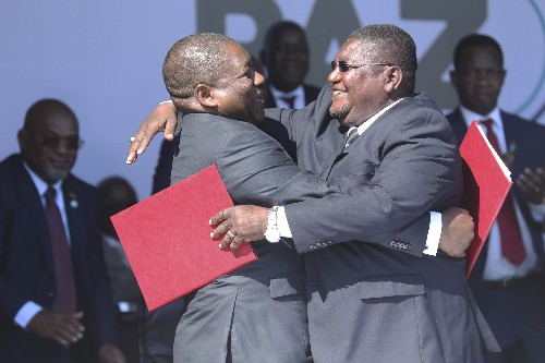 Mozambique peace accord brings hope of economic growth