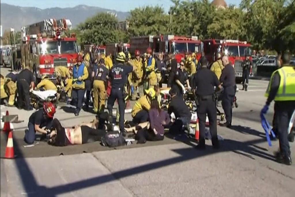 Mass Shooting in San Bernardino: Pictures