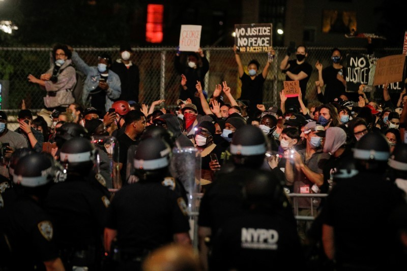 Trump pushes military response as U.S. girds for more protests