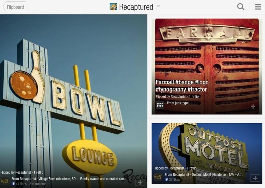 Recaptured: A Magazine of Roadside American Time Travel