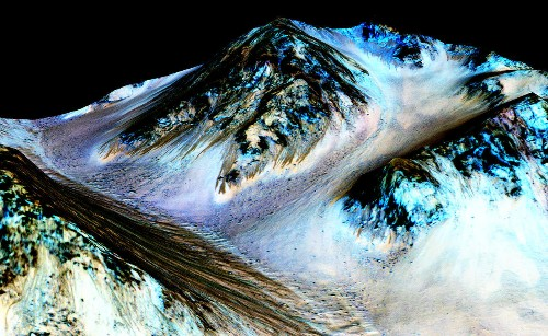 The Week in Review: Mars Water Discovery & Sci-Fi Epic The Martian