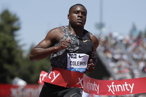 Sprinter Coleman faces Sept. 4 anti-doping hearing