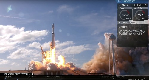 SpaceX successfully launches the world's most powerful rocket