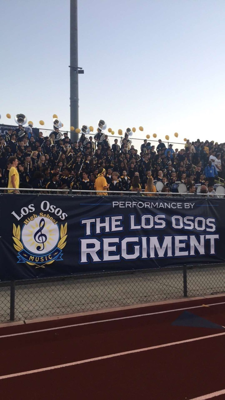 Los Osos Band and Guard 2016 - Magazine cover