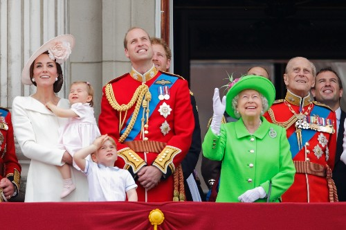 Trooping the Colour, the Queen and Charlotte: Pictures