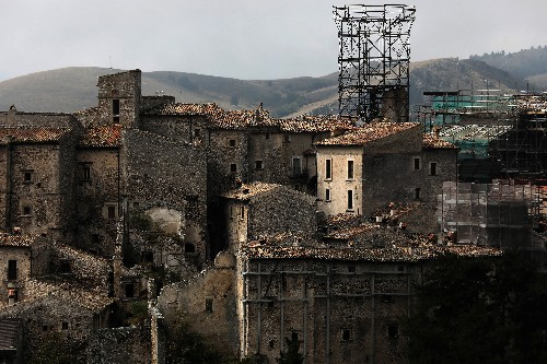Keeping an Italian medieval village alive