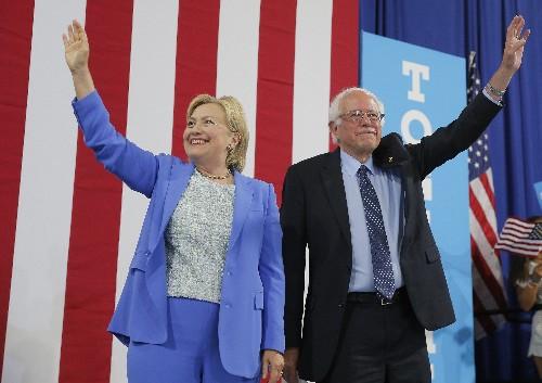 'Nobody likes him': Hillary Clinton bashes Bernie Sanders