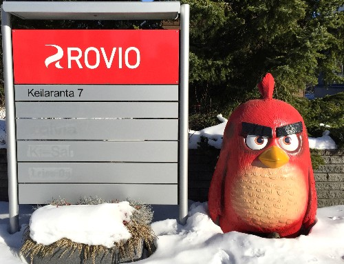 Angry Birds maker Rovio's shares jump after strong quarter