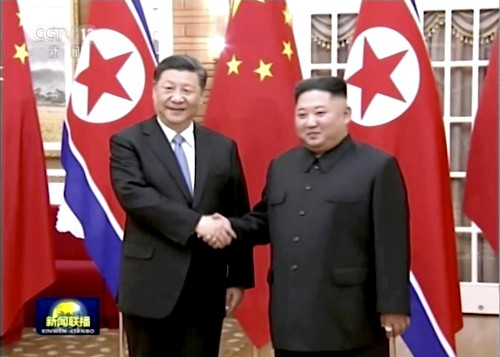 China's Xi arrives in North Korea for talks with Kim Jong Un