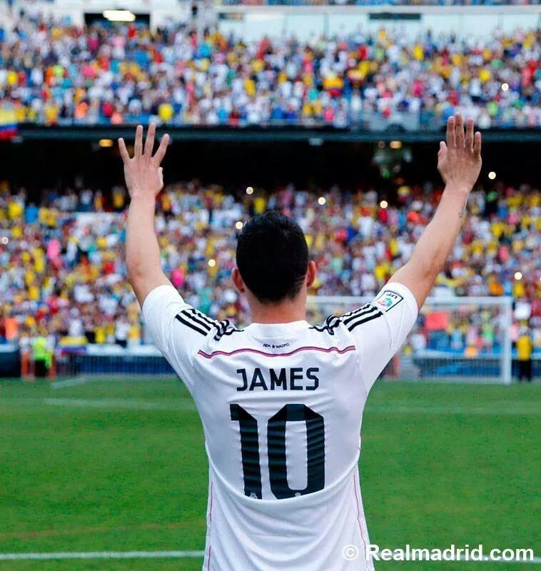 Uno dei craque del calcio mondiale: el diez James Rodriguez!!