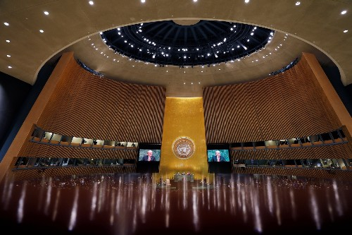 Trump Addresses the U.N. General Assembly: Pictures