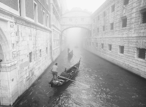 Venice in the Morning Fog: Pictures