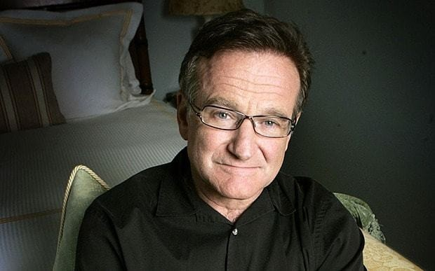 Robin Williams 'laughing and discussing superhero script' night before he died