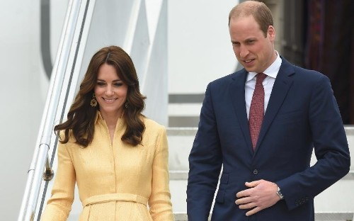 Duke and Duchess arrive in Bhutan to meet 'William and Kate of Himalayas'