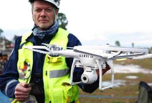 Drones Are Being Used For More Than Just Aerial Photography