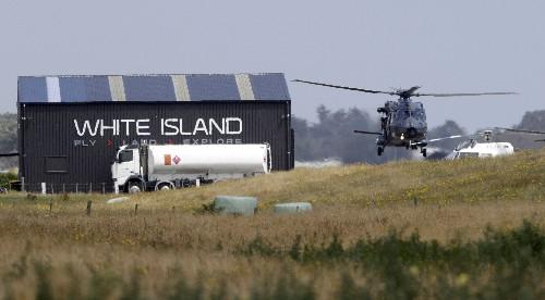 New Zealand planning retrieval of bodies on volcanic island