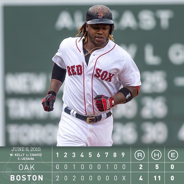Red sox  - Magazine cover