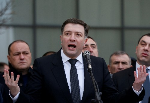 Europe, United States criticise Georgia over opposition leader's jailing