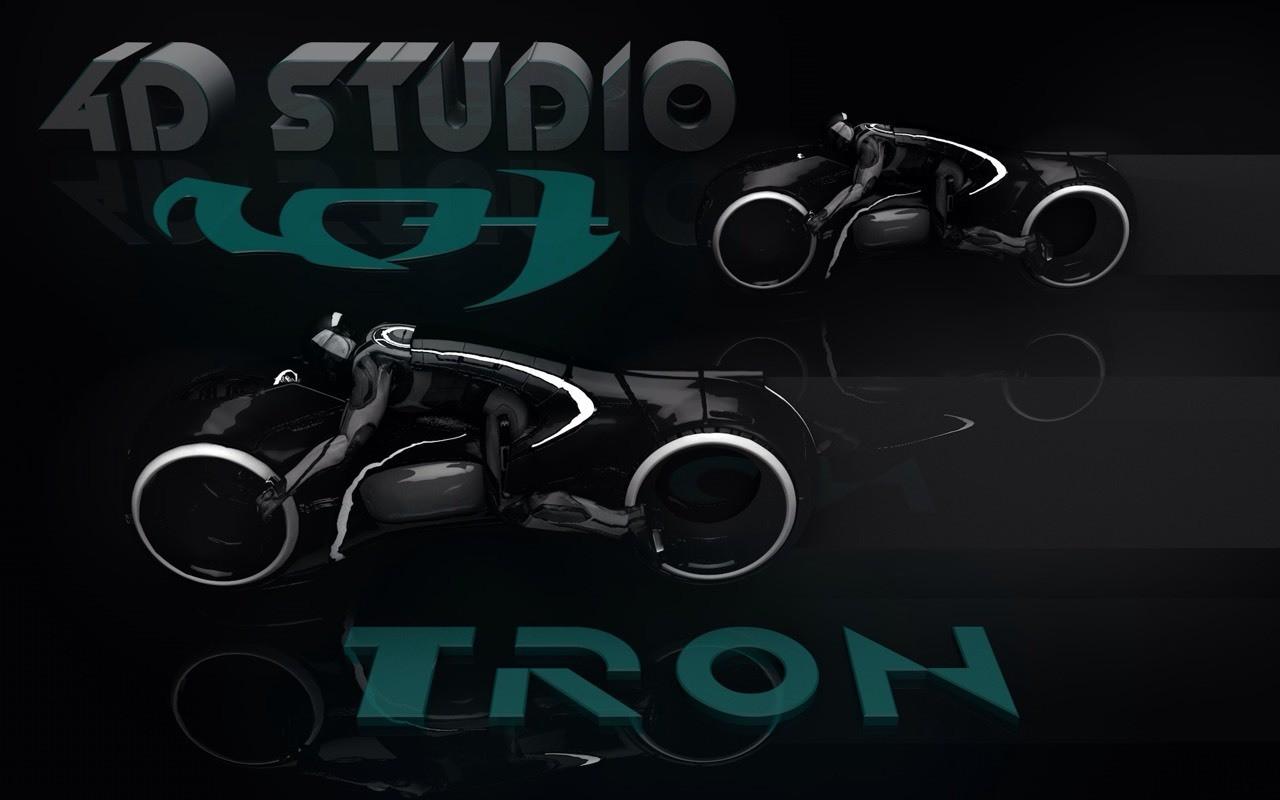 Tron Wallpaper 4D Studio