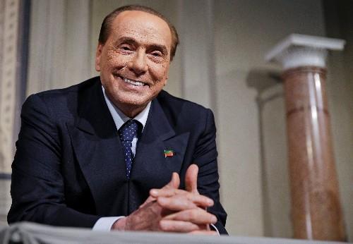 Berlusconi annuncia sua candidatura alle elezioni europee
