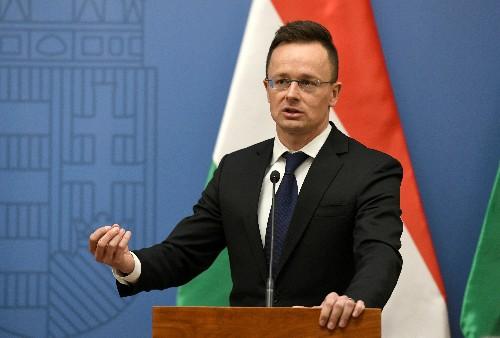 Hungary criticizes western Europe's 'hypocrisy' on China trade