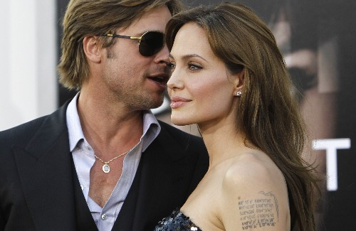 A Look Back at Angelina and Brad in Pictures