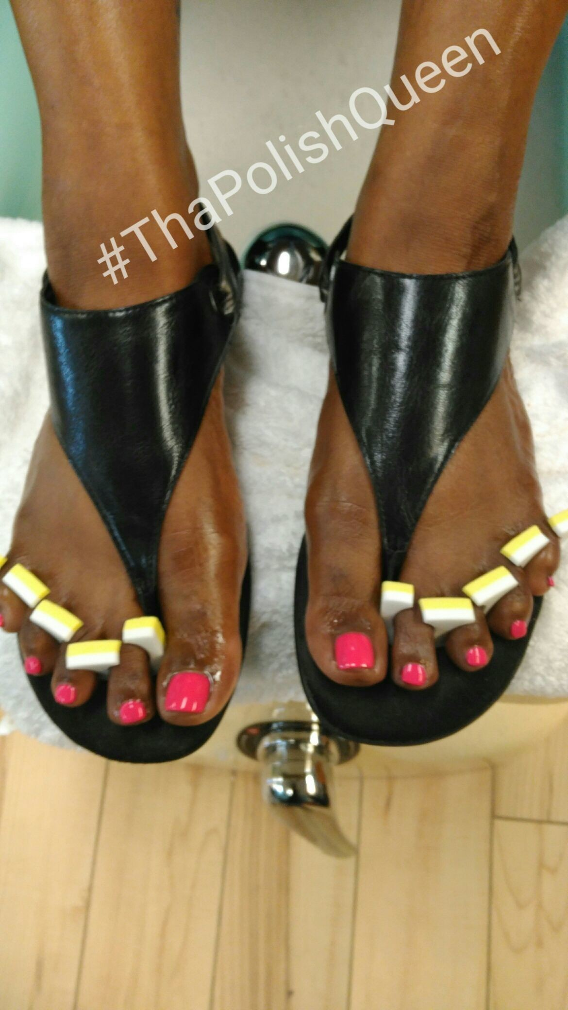 Thank u so much (Realtor) Ms. Anika Dixon for getting your #toes done with #ThaPolishQueen today! #ComeSeeMe #PrettyGurlsFeet #CleanBlackMasterNailTech #IDoNotRush #ITakeMyTime #YourMoneyWillBeWellSpent #YourToesMustBePerfectBeforeYouLeave #ComeExperienceMyHomemadeScrub #SpaologyNailSpa Spaology Nail Spa & More 3000 Kavanaugh Blvd, Ste. C LR, AR 72205 To book your appointment email me @ PrettyGurlsFeet@gmail.com or call me at the salon @ 501.265.0303 or to book directly and purchase your service... Go to my website @ me on IG: @ms_beautiful_feet #ImWaitingOnYou