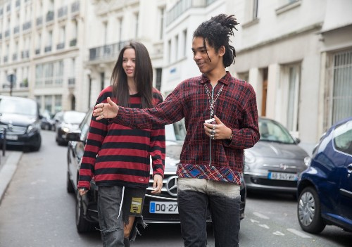 Paris Street Style Fashion in Pictures