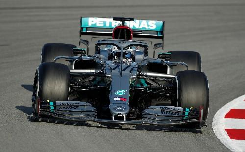 Mercedes close to record pace as Ferrari suffer