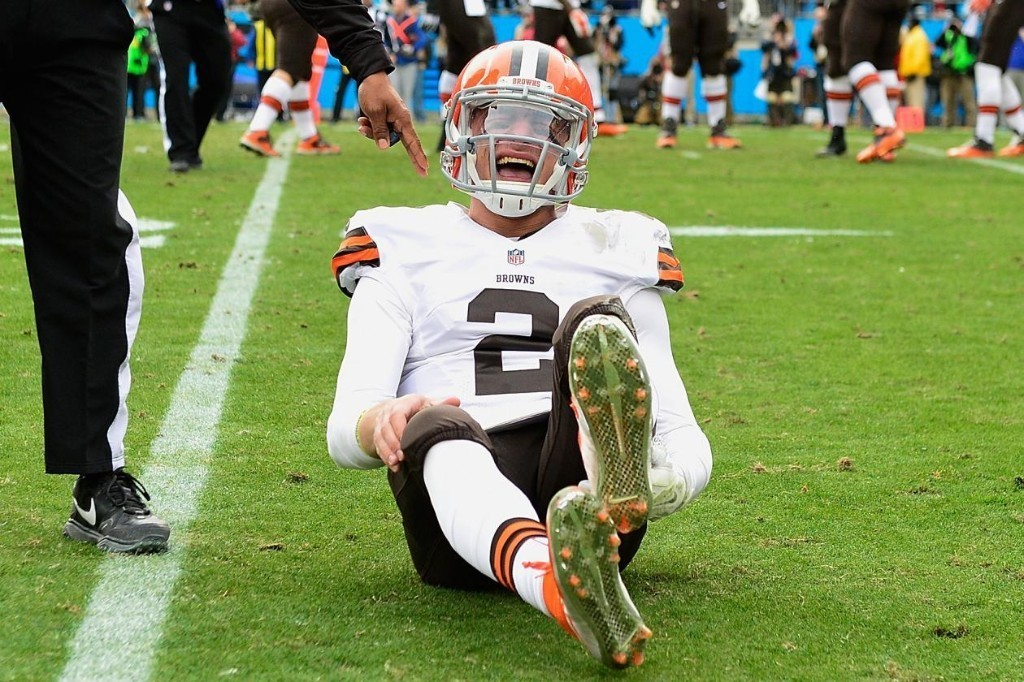 Johnny Manziel Placed on Injured Reserve with Hamstring Injury