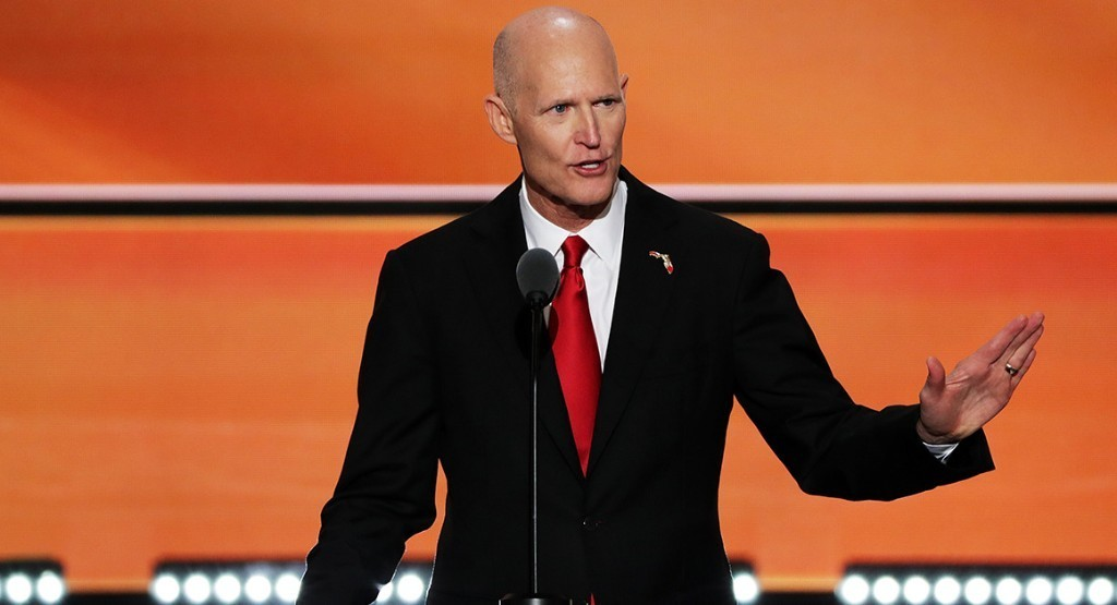 Florida governor remains unsure about climate change after Hurricane Irma