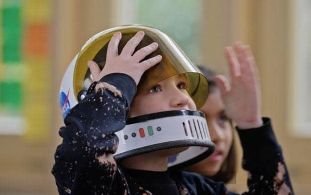 What do kids know about space?
