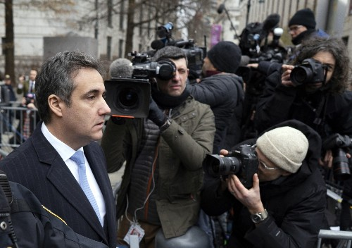 'Dirty deeds': Ex-Trump lawyer Cohen gets 3 years in prison