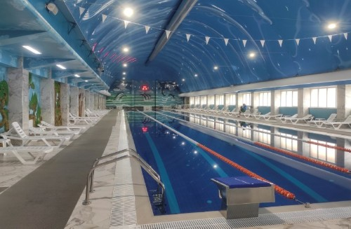 Biggest swimming pool in Russia's Muslim south bans women, causing outcry