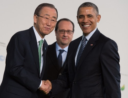 UN Climate Change Conference in France: Pictures