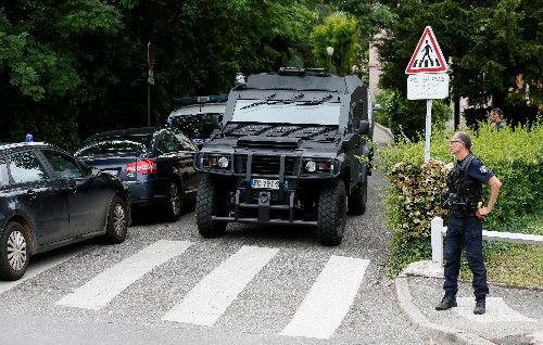 French police arrest three over Lyon bomb blast