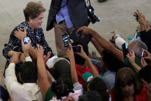 Acting speaker of Brazil lower house annuls Rousseff impeachment