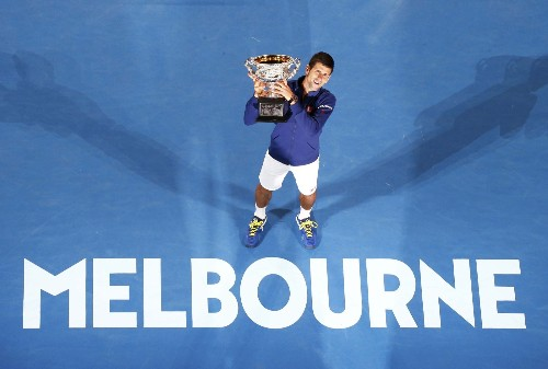 Djokovic Dominates Murray in Aussie Open Final: Pictures
