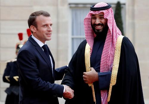 """Entretien téléphonique """"MbS""""-Macron sur la sécurité dans le Golfe"""