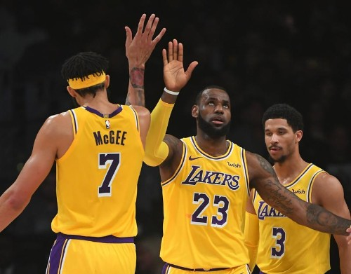 Warriors et Lakers au top