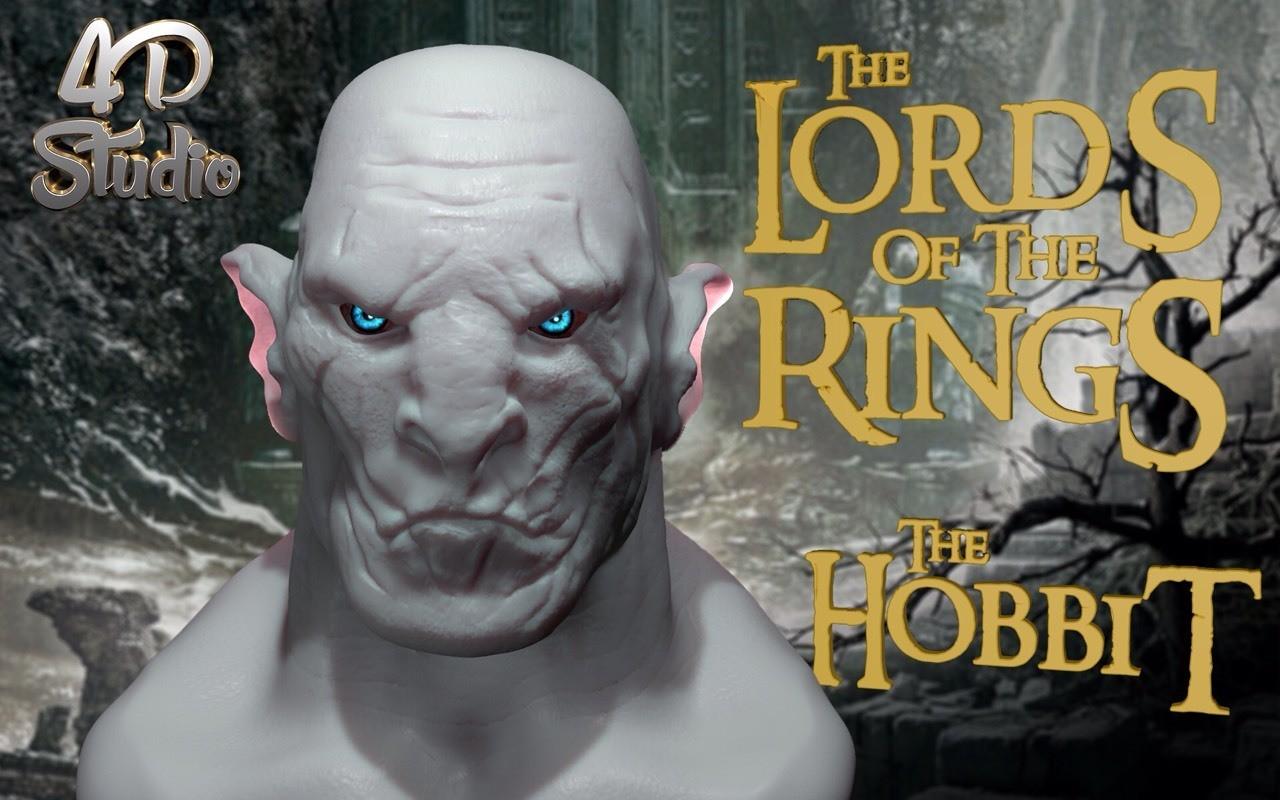 Uruk hai The Hobbits 4D Studio