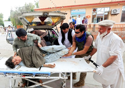 Mindestens 62 Tote bei Bombenanschlag in Afghanistan
