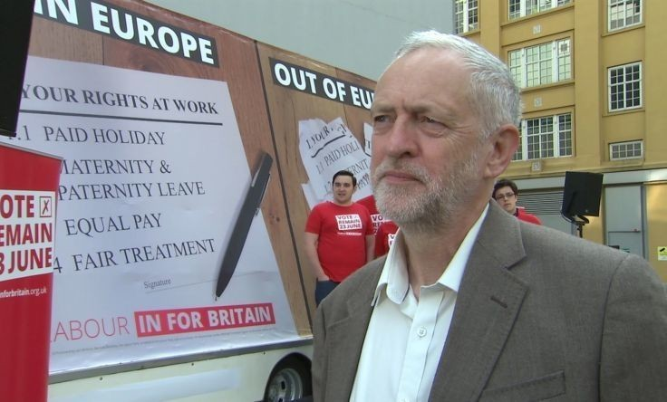 EU referendum: Jeremy Corbyn pleas with Labour movement to back Remain campaign