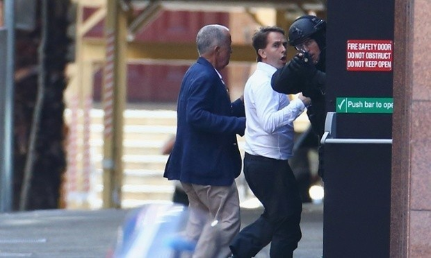 Hostages in the Sydney cafe siege: 'We're not getting out of here'