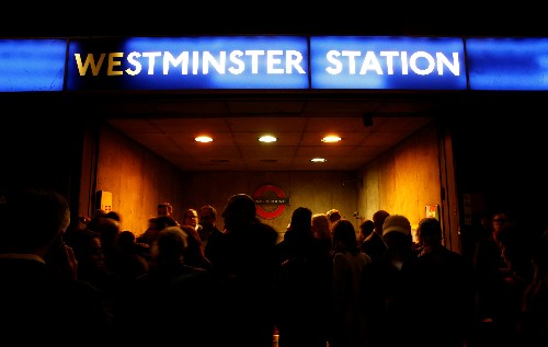 London's Westminster station reopens after reported emergency: witnesses