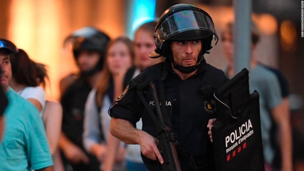 Terror attacks in Spain: Live updates