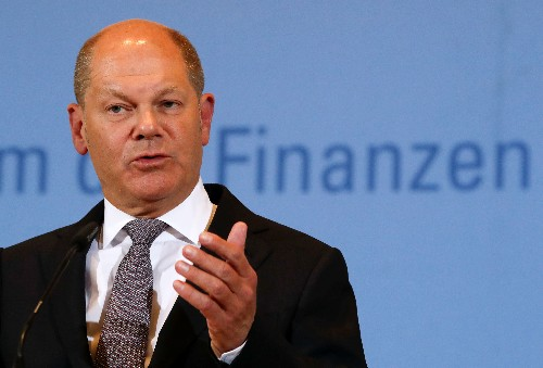 German finance minister expects OECD deal on digital tax in 2020
