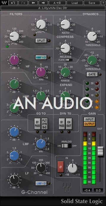 An Audio - cover